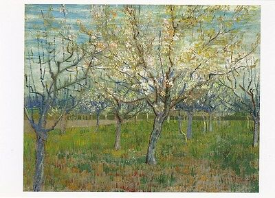 VINCENT VAN GOGH MUSEUM ART PRINT POSTCARD The Pink Orchard