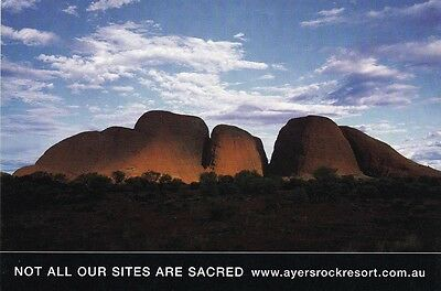 AUSTRALIAN ADVERTISING POSTCARD Ayers Rock Resort, Northern Territory