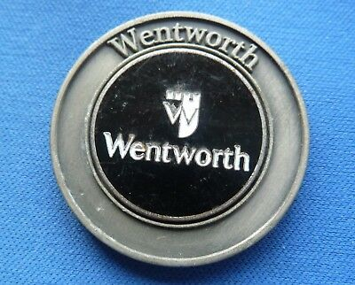 Rare Wentworth Dual Golf Ball Marker