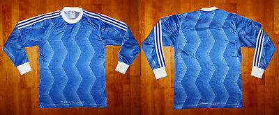 Vintage 80er adidas Fussball Football Trikot Shirt Maglia West Germany Gr. 5-6