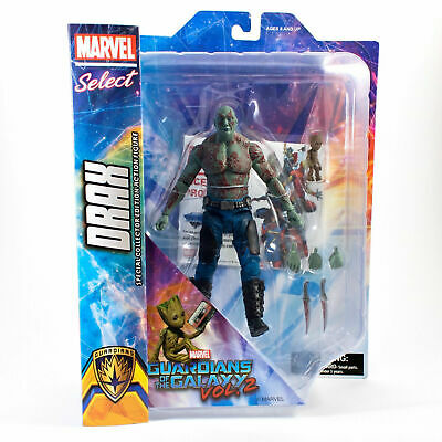 Guardians Of The Galaxy Vol.2 Drax Baby Groot Marvel Select Action Figure Bnisp