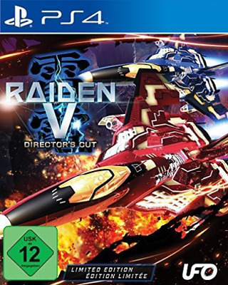 Raiden V Directors Cut Limited Edition PS4 Game  (UK IMPORT)  GAME NEW