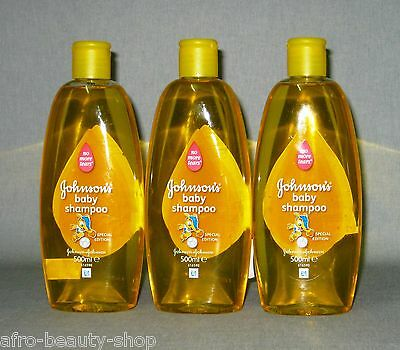 3 x JOHNSON`s - Baby Shampoo - mild - 1.500 ml