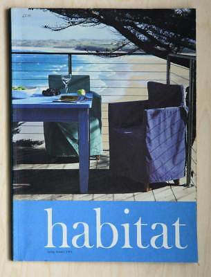 HABITAT 1993 CATALOGUE Spring summer design classic collectable for students