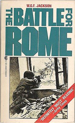 The Battle for Rome by W.G.F. Jackson