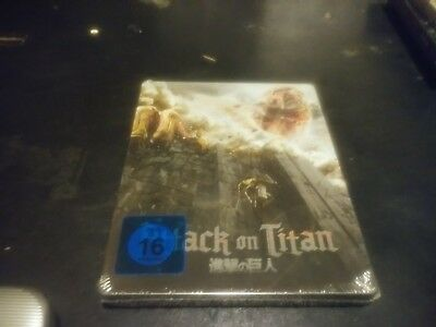 Attack on Titan first movie (blu-ray disc steelbook 2017) region b