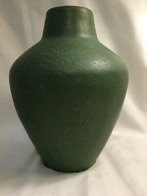 Rare Antique Van Briggle Pottery Vase Matt Green Shape 320 Arts & Crafts Mission