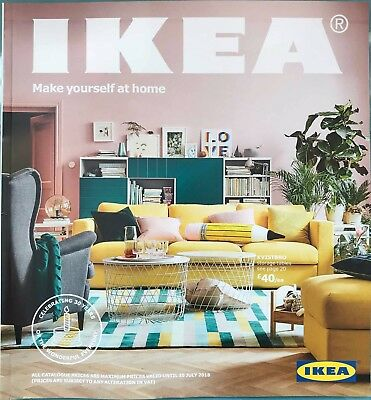IKEA Catalogue Magazine Brochure 2017-2018 / Brand New