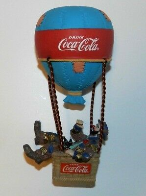 """1994 Limited Edition Coca Cola """"look Up America"""" Featuring Emmett Kelly Figurine"""