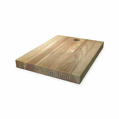 Personalised Wooden Chopping Board - Great for Cutting & Presenting Food