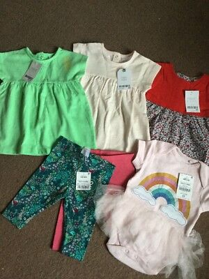 Bnwt Next  Baby Girls Clothes Bundle Age 0-3 Months