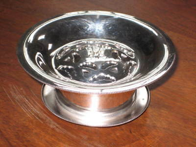 BUTTER CURLER PRESS DISH, ITALY, 1950s VINTAGE WILLIAM ADAMS SILVERPLATED
