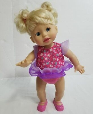 Fisher Price Little Mommy Dancy Dancy Baby Doll Interactive Music Sound Mattel
