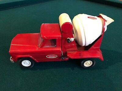 Vintage 1960's Tonka Jeep Cement Mixer Truck Pressed Steel Mound Minn