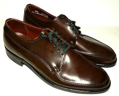 50s 60s vtg NOS Portage Portoped Dress Shoes sinatra rat pack madmen suit 8.5