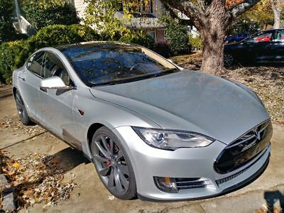 2013 Tesla Model S Tech package and studio sound Really well cared for car.
