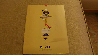 Revel Beach Resort Hotel Atlantic City, New Jersey Advertising Brochure 2012 VG