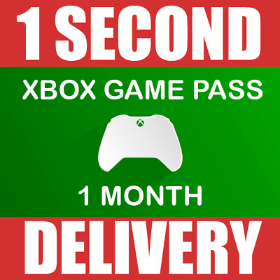 Xbox One Game Pass - 1 Month Trial Subscription -Microsoft Xbox-Instant Delivery