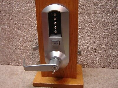 Kaba Simplex Ilco Unican 5000 Pushbutton Lock Over Ride Core Installed w/Keys