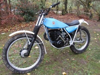 1974 Bultaco Sherpa 250 twinshock trials bike
