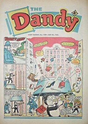 DANDY - 4th MAY 1968 (4th - 10th) - RARE 50th BIRTHDAY GIFT!!