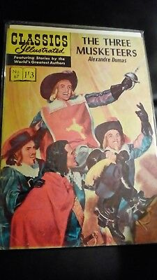 Classics Illustrated no67.....The three musketeers