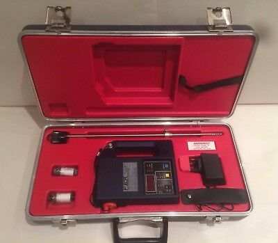 Neotronics 950-01 950-1 Fuel Efficiency Monitor Gas Analyser Tester + Carry Case