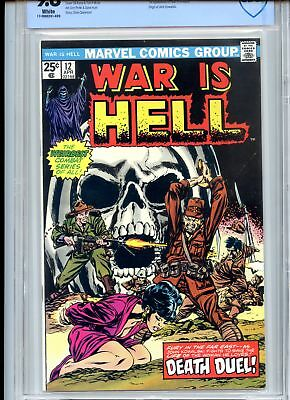 War is Hell #12 CBCS 9.8 1st Tsuin Hanneford Skull Cover