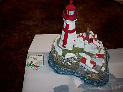 Harbour Lights East Quoddy Lighthouse New Brunswick Canada 1999 #708