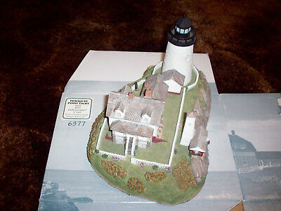 Pemaquid Point Light Maine #164 Harbour Lights 1996 Lighthouse Sculpture