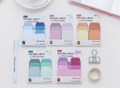Pastel Color Divider Tab Index Tab Sticky Notes Bookmark Post-it Sticker Marker