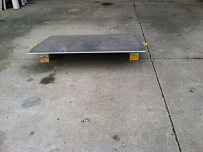 "Loading Dock Plate with Handles, 60"" x 48"""