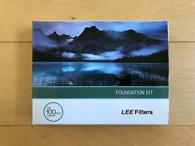 Brand New LEE Foundation Kit The 100mm System in Box