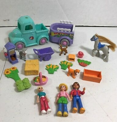 Mixed Lot Of Fisher Price Sweet Streets Figures And Garden Accessories
