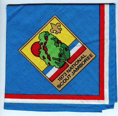 1973 National Scout Jamboree Neckerchief Boy Scouts of America