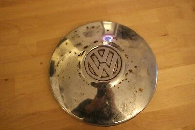 Genuine Volkswagen beetle (early) or T25 Chrome Hubcap