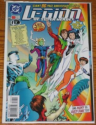 Legion of Super-Heroes #100 GIANT 96-PAGE ISSUE DC comic book