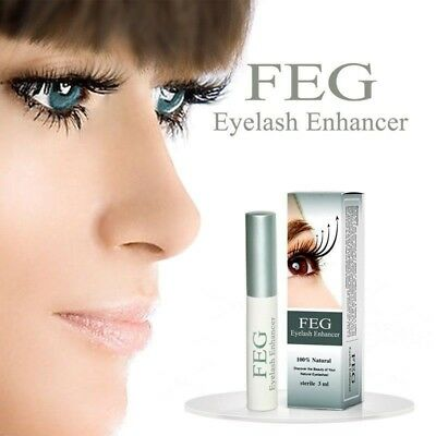 FEG Eyelash Enhancer Rapid Growth Serum ~100% Natural~Super Fast Shipping!