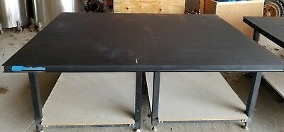 """Steel Welding Tables Top 5'x7' by 2.5"""" thick"""