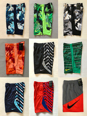 New Nike Big Boys DRI-FIT Shorts Size S to XL Multiple Designs and Colors