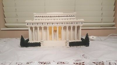 """Department 56 American Pride Collection """"The Lincoln Memorial"""""""