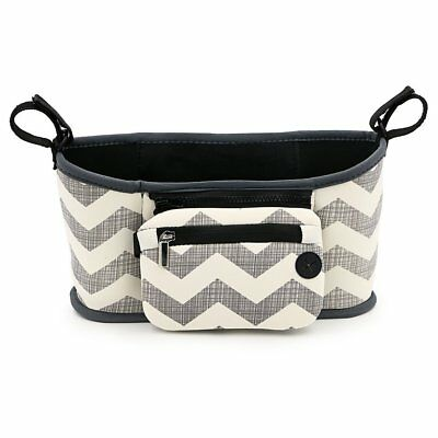 Hipiwe Universal Baby Buggy Stroller Organizer Diaper Bag Cup Holder Fits all or