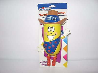 NEW Hostess Twinkie the Kid Container Poseable Arms Legs Cute Collectible