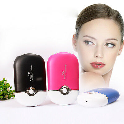 Mini Eyelashes USB Extension Fan Air Conditioning Purple Quick Dryer Blower Hot#