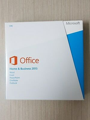 Microsoft Office Home and Business 2013 - PC DVD