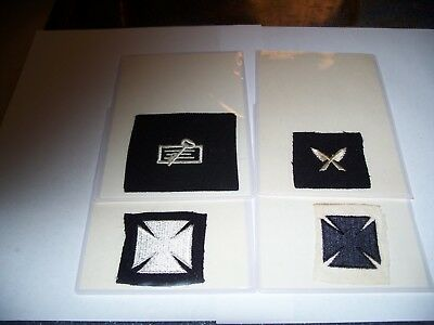 Vintage Navy Rating Patch Lot ,  Specialists  Trade Badges Assorted