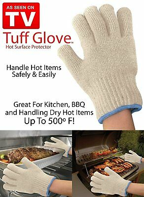 Tuff Glove Oven Cooking Gloves Hot Surface Protector 2 Pcs AU
