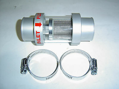 Radiator Coolant Filter Alloy See Thru Glass 38mm Hose Size sent Registered Post