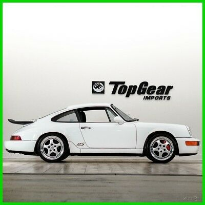 1993 Porsche 911 RS 1993 Porsche RS Coupe  Rare Sunroof & Air Conditioning Delete Option