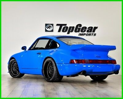 1979 Porsche 911  1979 Porsche 930 Turbo with 3.8L Twin Turbo  6-Speed Manual